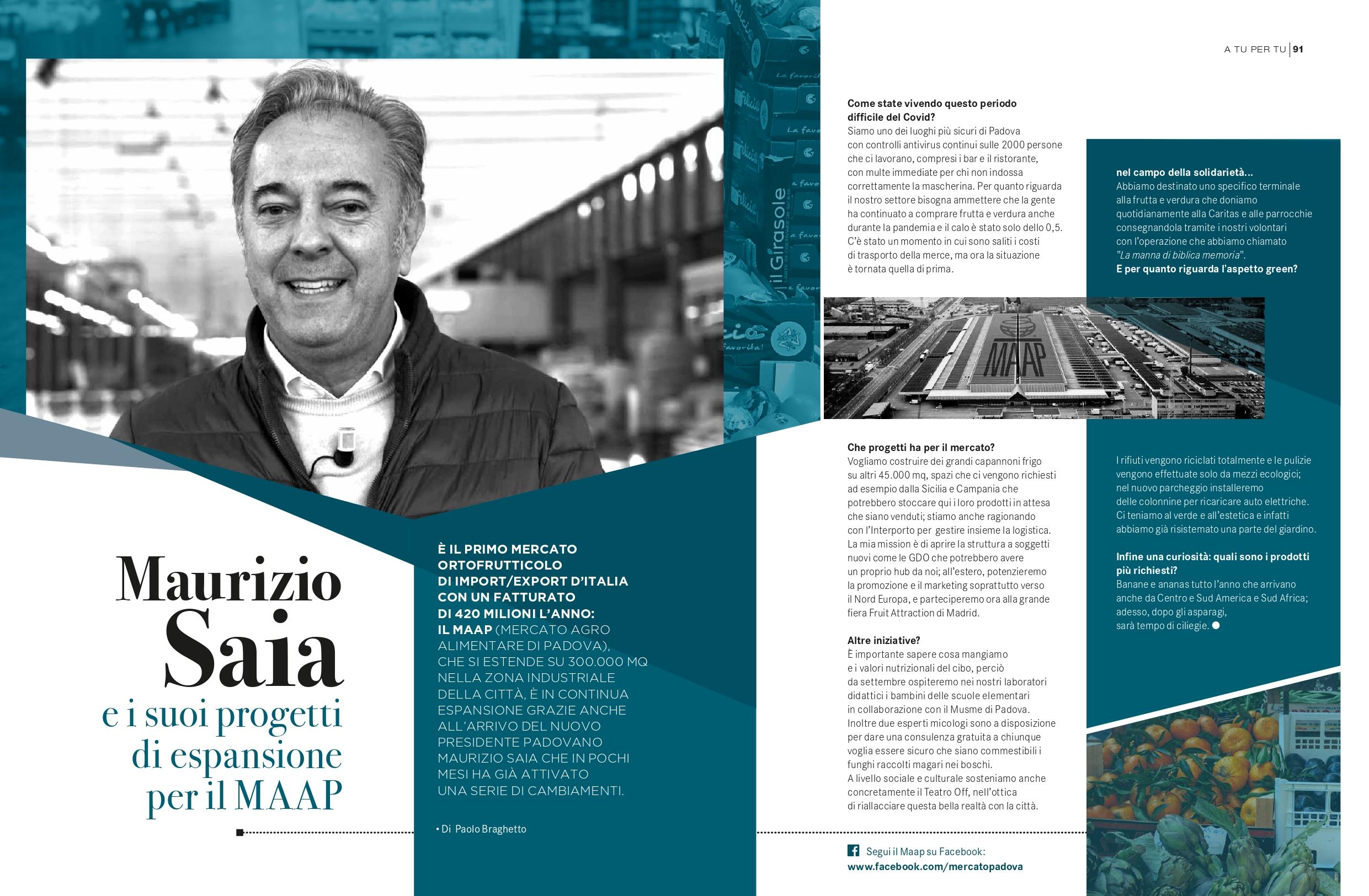 Maurizio Saia e i suoi progetti
